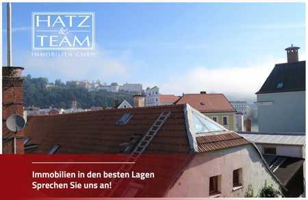 Hatz & Team - Stadtnah Wohnen! Helle 2-Zimmer Altbauwohnung in der Passauer Innstadt! in Innstadt (Passau)