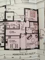Schöne 3-Zimmer-EG-Wohnung mit Einbauküche in