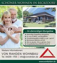 NEUBAU Schwanewede-Beckedorf Komfortabel wohnen auf
