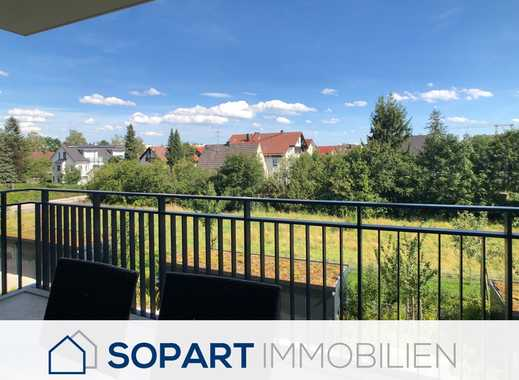 Sopart Immobilien - Neuwertige und edle 3-Zimmer Wohnung mit Südausrichtung - zentral in Germering