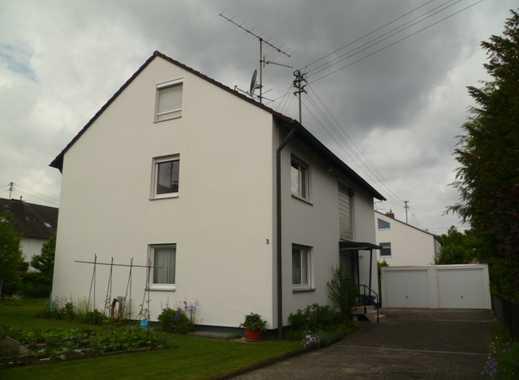 Schöne helle Maisonette Wohnung mit Südbalkon in ruhiger Lage im Neusäßer Stadtteil Westheim