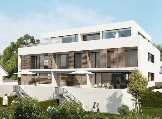 Erstbezug: exklusive 3-Zimmer-Wohnung mit großer Südterasse 100m vom Main