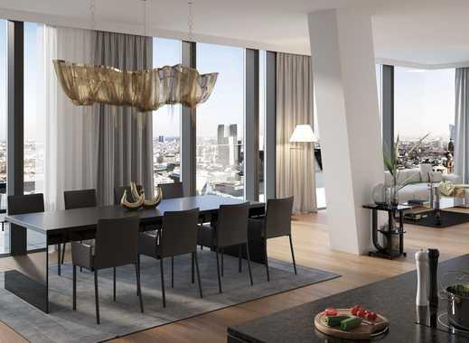 Freiheit und Leichtigkeit: Hochwertige 3-Zimmer-Wohnung mit Skylineblick im Herzen Frankfurts