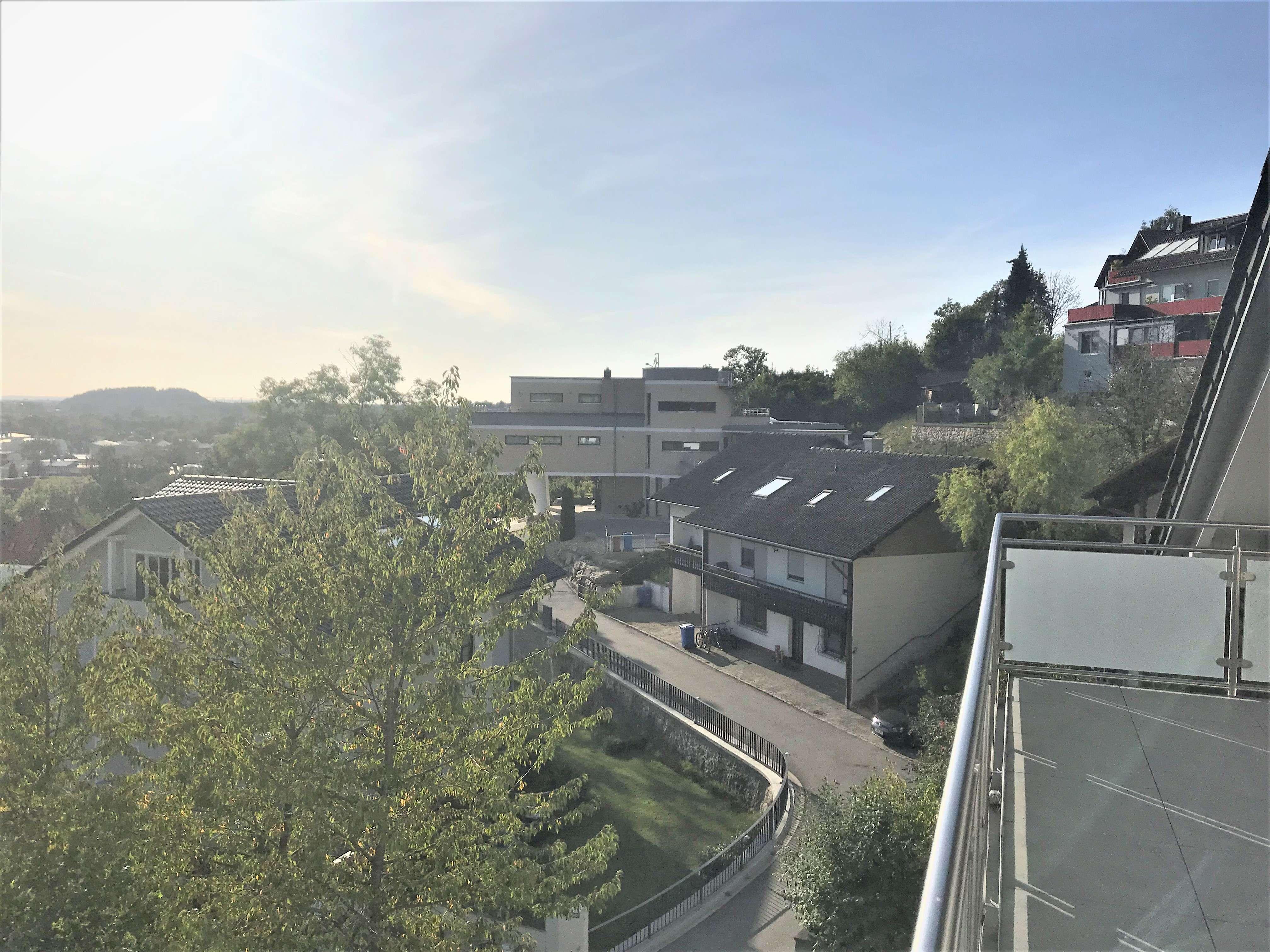 Penthouse-Wohnung mit Blick über Deggendorf in Deggendorf