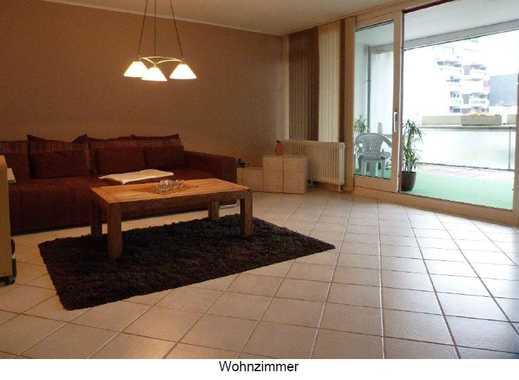 Vollmöblierte 60m² 1-Zimmer Wohnung mit grossem Balkon