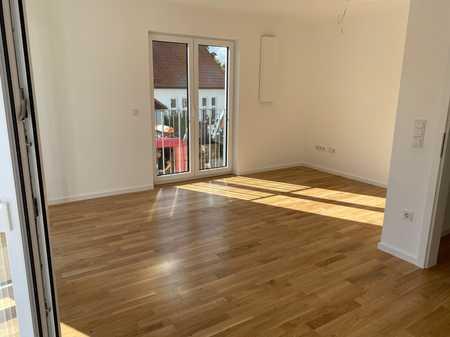 Erstbezug ab Oktober - Exklusive 2-Zimmer Wohnung in Moosburg mit Garten in Moosburg an der Isar