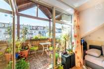 Ruhige Wohnung mit überdachten Balkon