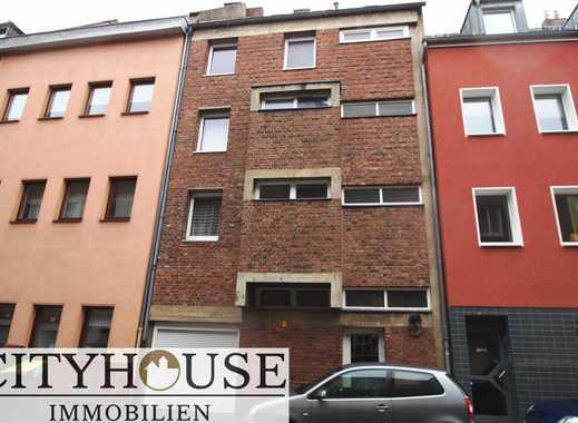 CITYHOUSE: Zu verkaufen gute Kapitalanlage Mehrfamilienhaus mit 4 WE + Garage in Köln-Ehrenfeld