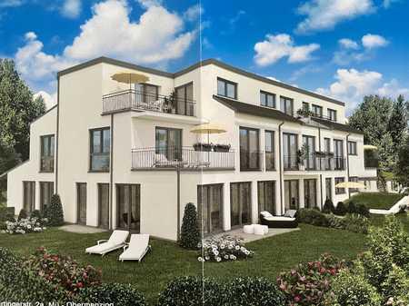 1-Zimmer Apartment mit luxuriöser Ausstattung und kleiner Terrasse sowie Küche, Erstbezug in Obermenzing (München)