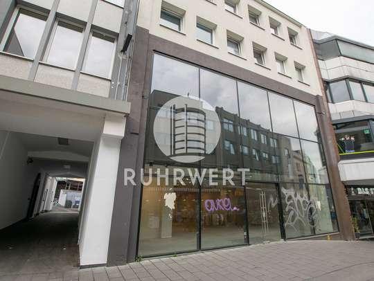Außenansicht Schaufenster von Retail-Fläche in A-Lage | Fußgängerzone Bochum-City