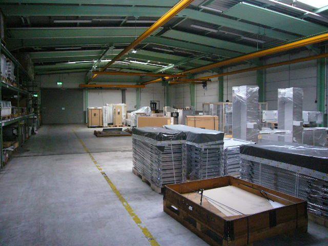 Halle mit ca 580 m²