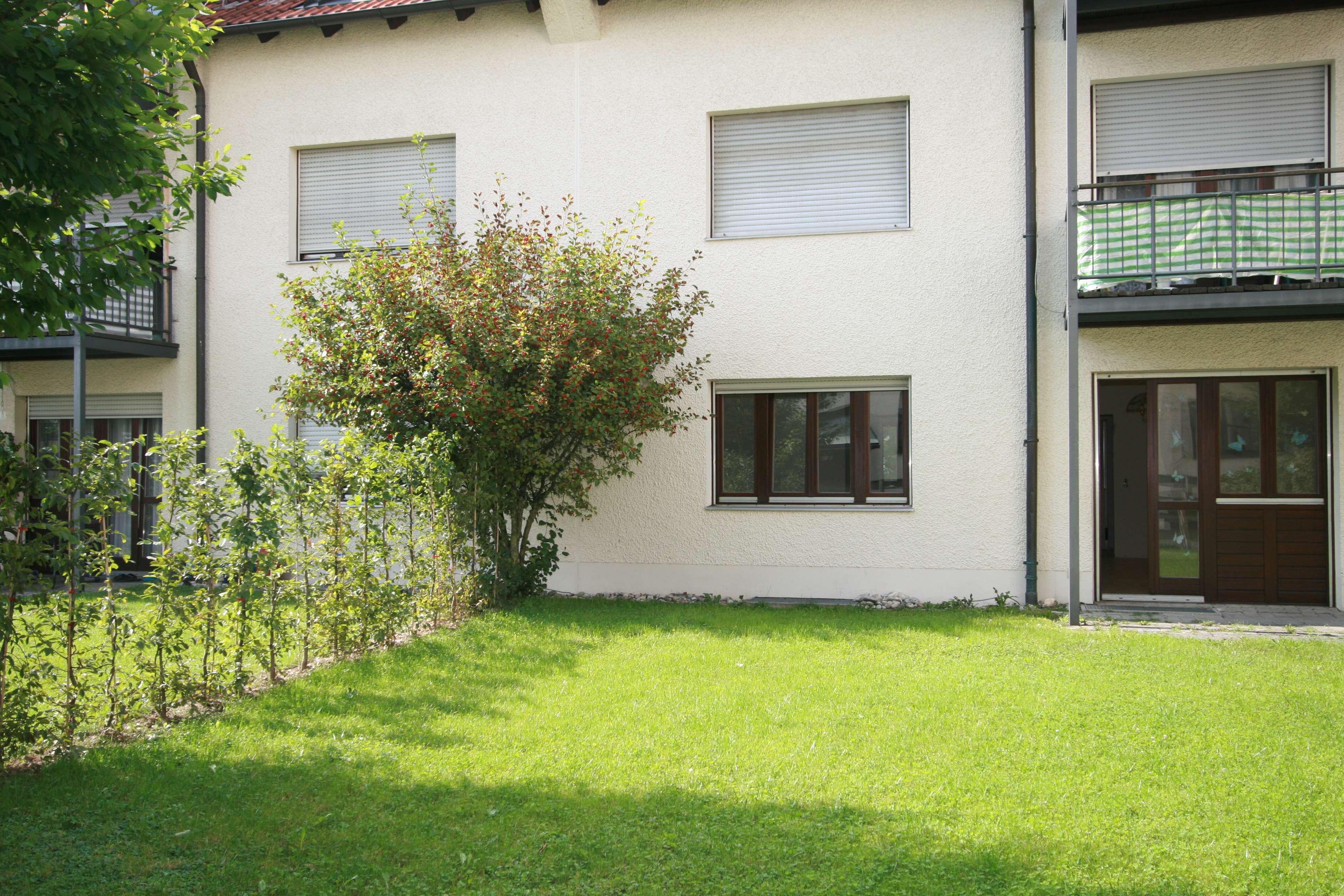 3-Zi.-Mietwohnung im Erdgeschoss in zentraler Lage mit Garten
