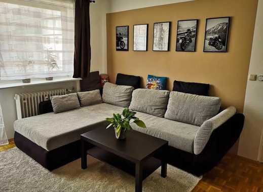 ++ALL INCLUSIVE++ Teilmöblierte 1-Zimmer-Wohnung Nähe Leonrodplatz (inkl. WLAN, Parkplatz, Strom)