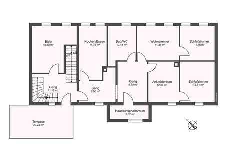 Große Wohnung mit Dachterrasse in Vilsbiburg in Vilsbiburg