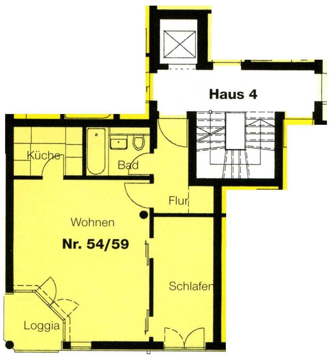 Attraktive 1,5-Zimmerwohnung -zentrumsnah- in Deggendorf