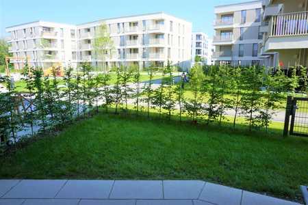 Erstbezug! Sehr schöne 1 Zimmer-Neubauwohnung mit Einbauküche und Garten, S-Bahn Nähe! Top! in Aubing (München)