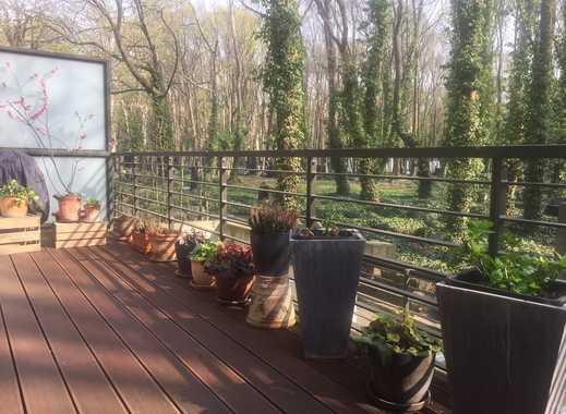 helle und ruhige 3-Zi-Whg mit idyllischer Terrasse