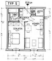 Schöne 2-Zimmer-Wohnung zur Miete in