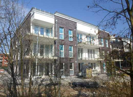 Süd Ost Ausrichtung! 2-Zi. -Neubau-Wohnung im Erdgeschoss mit großer Terrasse und Einbauküche