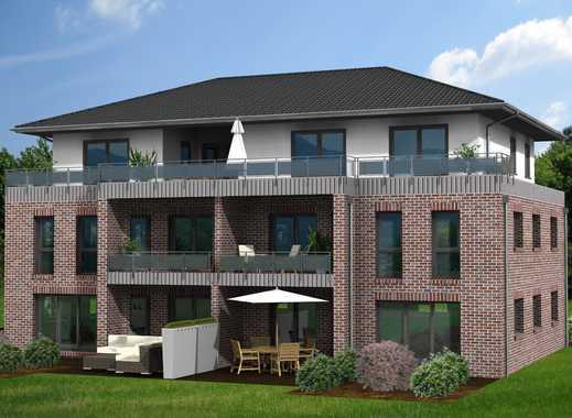 Zentrale Lage in Lilienthal, neuwertige 3-Zimmer-Wohnung mit Balkon und neuer Einbauküche