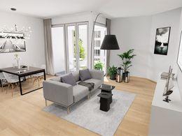 Visualisierung Wohnbereich