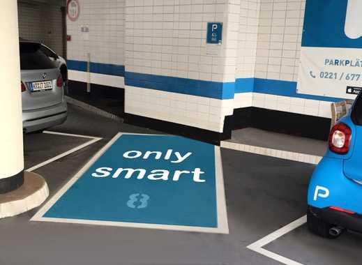 Überdachter Stellplatz für Smart