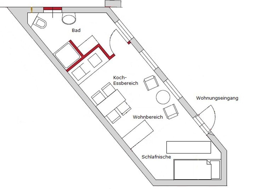Neu 45 EG Wh 3 (Hinterhaus)
