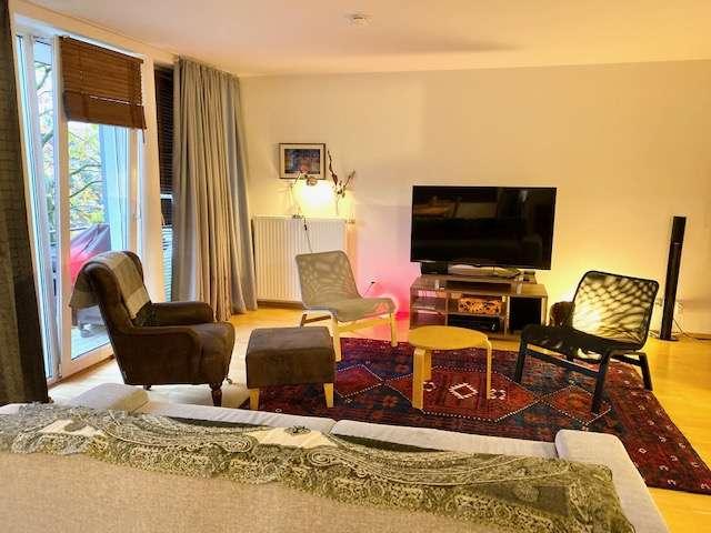 Teilmöblierte ruhige 3-Zimmer Wohnung befristet auf 1 Jahr in Ismaning