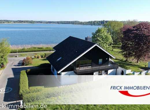 Seeblick-Einfamilienhaus - 1. Reihe am Wasser