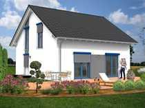 Baugrundstück mit Haus - Wohnen mit