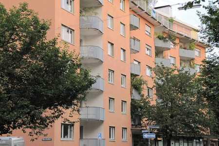ruhige, hochwertig möblierte 3-Zi.-Wohnung ab 1.9.2020 zu vermieten in Schwabing-West (München)