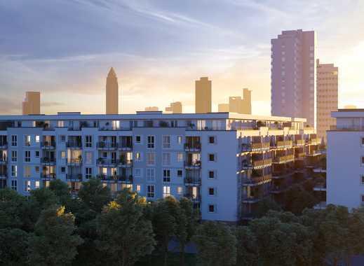 ERSTBEZUG** Schicke Neubauwohnung im Frankfurter Gallus **