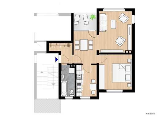 Frisch renovierte 2,5-Zimmer Wohnung im grünen Zinkhüttenpark in Duisburg Hamborn