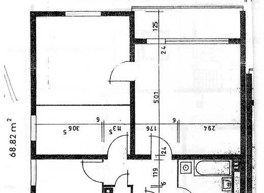 Modernisierte (2017/18) 3-Zimmer-Wohnung, Kü+Bad mit  Balkon in Mayen