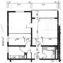Modernisierte 2017 18 3-Zimmer-Wohnung Kü