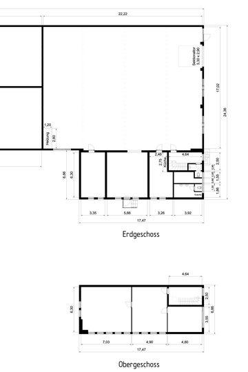 Halle 610qm Grundriss