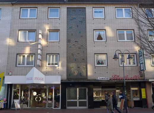 Wettannahmestelle in der Fußgängerzone in Meiderich