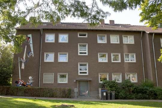 hwg - Gemütliche 3-Zimmer Wohnung mit Balkon in grüner Lage!
