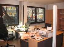 Büroraum möbiliert in einer Bürogemeinschaft