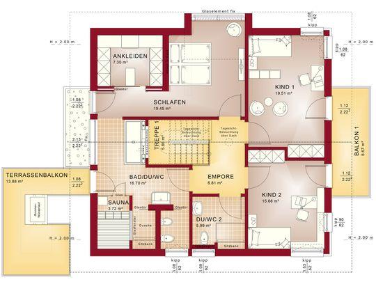Concept-M 163 - Dachgeschoss