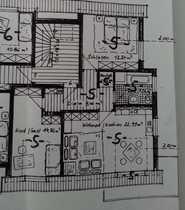 Helle gepflegte 3-Zimmer-DG-Wohnung mit Balkon