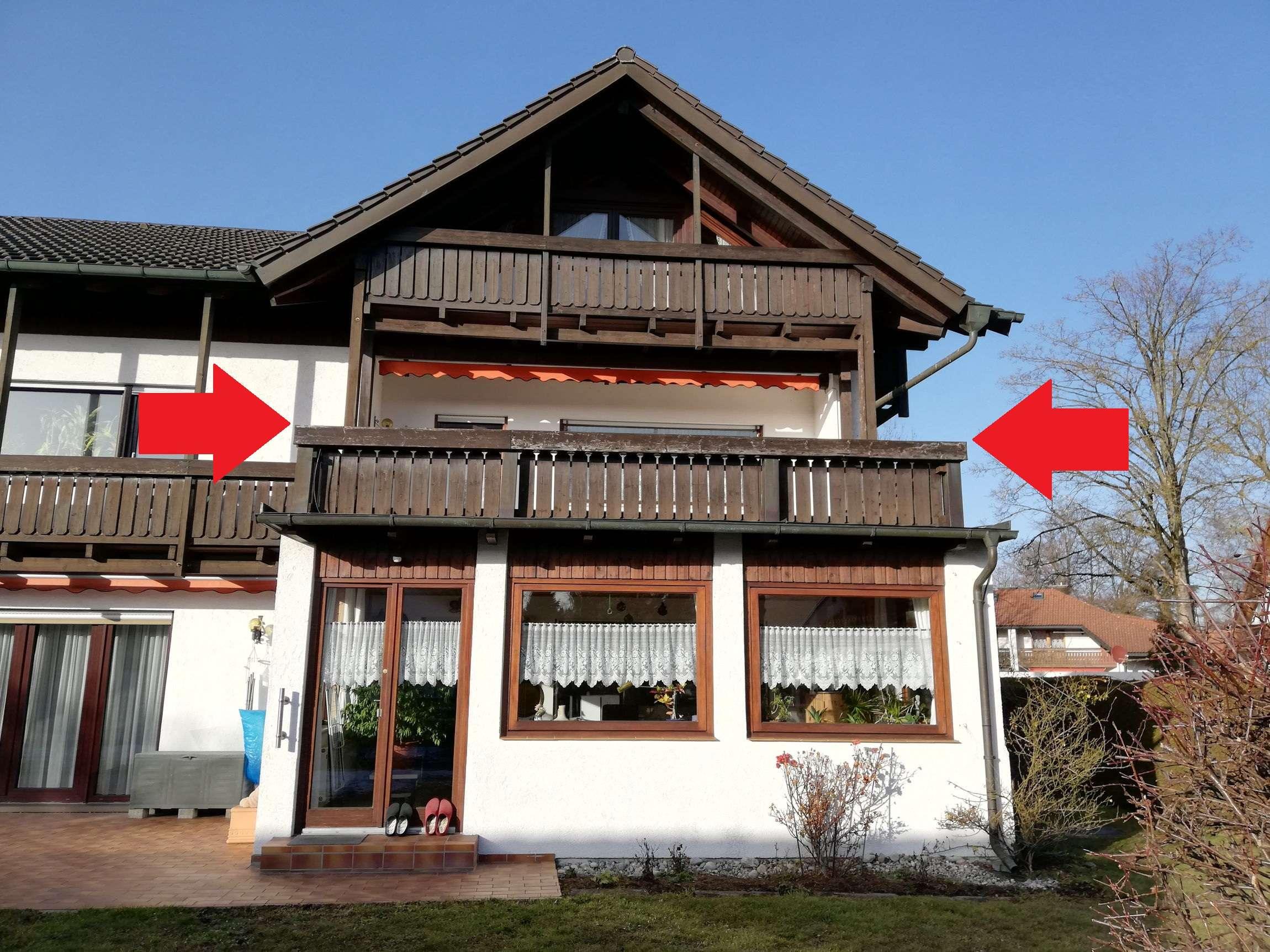 Möblierte, stilvolle und gepflegte 1-Zimmer-Wohnung mit Balkon im Westen von München, in Eichenau in