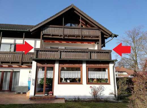 Stilvolle, gepflegte 1-Zimmer-Wohnung mit Balkon und Einbauküche in Eichenau