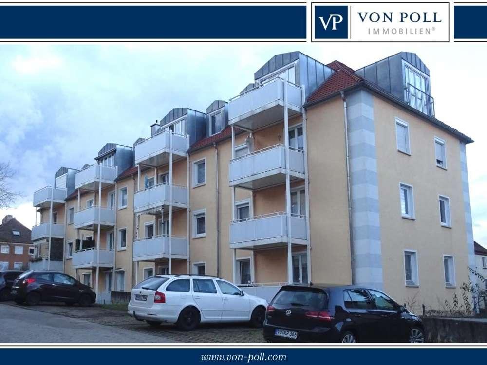 Würzburg-Mönchberg: Apartment mit Balkon zu vermieten in