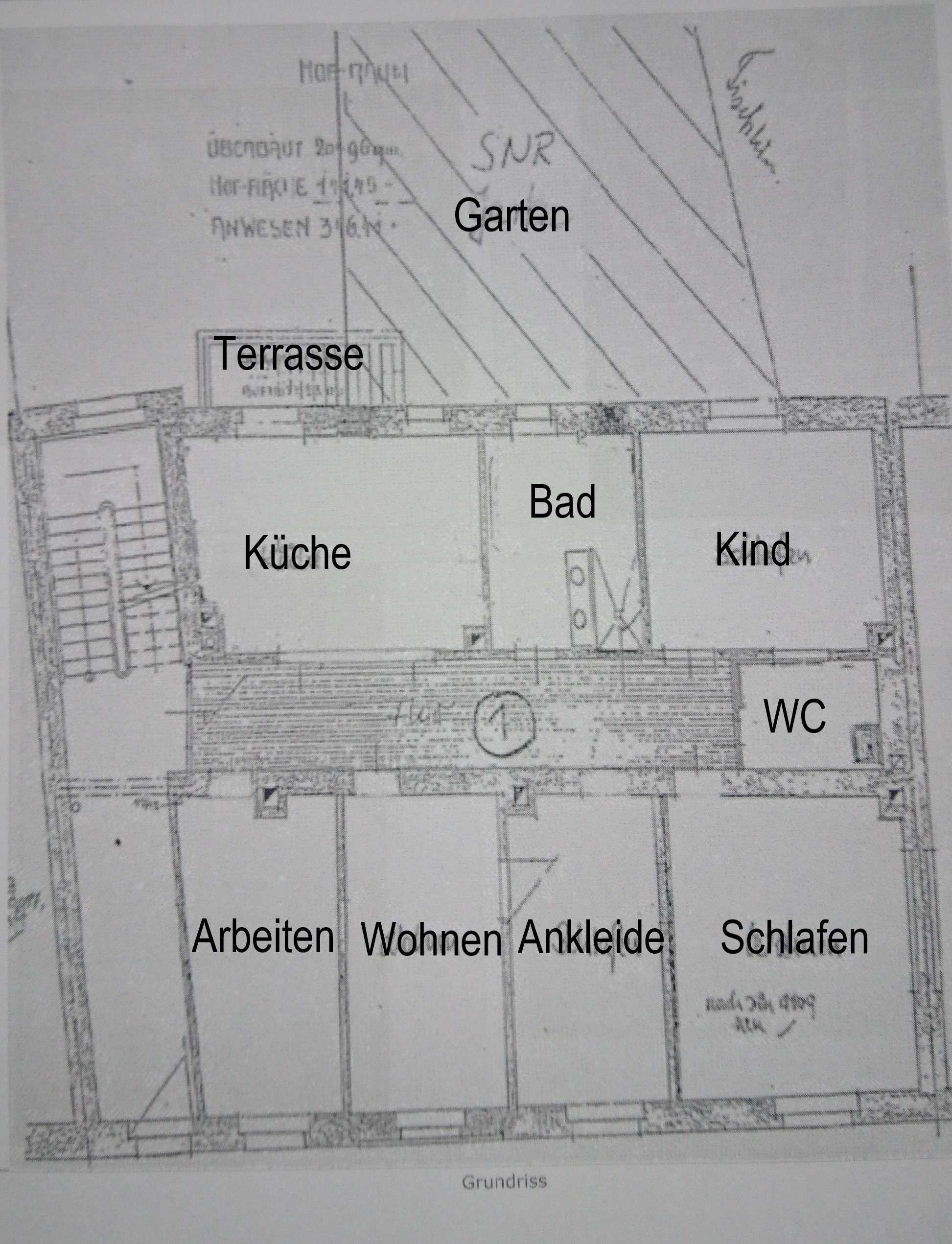Schöne fünf Zimmer Jugenstil-Wohnung in Nürnberg, Kressenstrasse