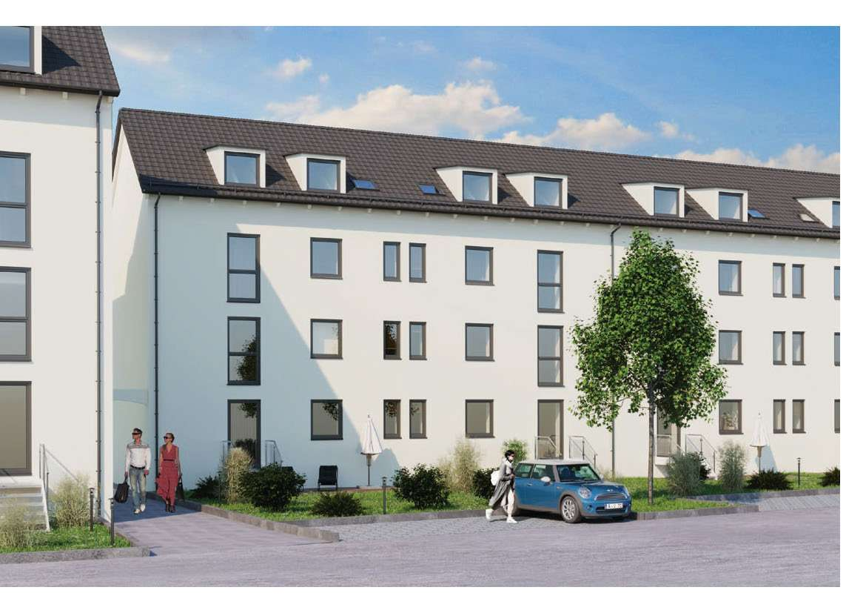 Kernsanierte 2 Zimmer Dachgeschoßwohnung in Dillingen an der Donau