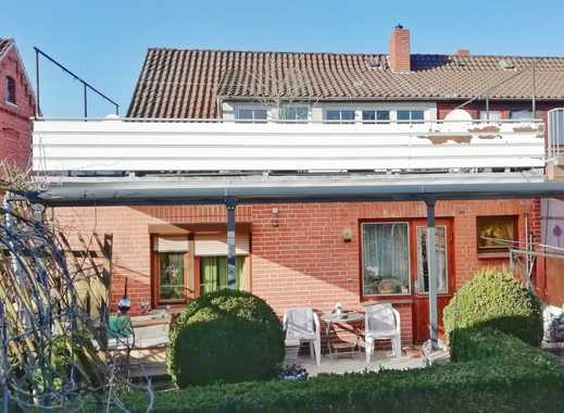 Wohnen & Arbeiten unter einem Dach: Teilsanierte DHH mit 2 Wohneinheiten & Gewerbefläche in Syke