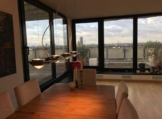 Perfekt Penthouse Mit 3 Zimmern   Kamin Und Großer Dachterrasse In Düsseldorf  Derendorf