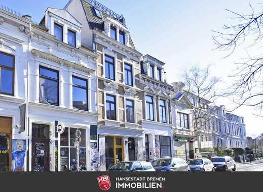 Viertel / Kapitalanlage: Klassisches Altbremer-Mehrfamilienhaus in Bestlage