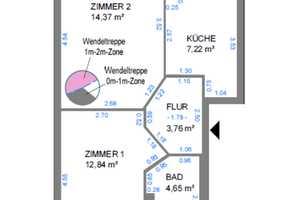 4 Zimmer Wohnung in Magdeburg